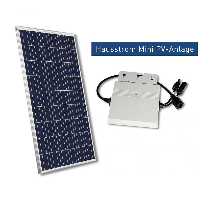 hausstrom mini pv anlage 265 watt solarmodule fabr. Black Bedroom Furniture Sets. Home Design Ideas
