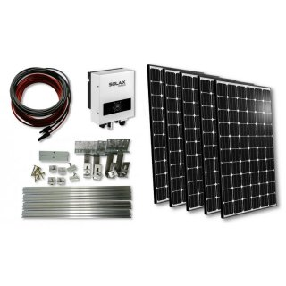hausstrom mini pv anlage mit micro inverter off grid systems scherer solarstrom gmbh. Black Bedroom Furniture Sets. Home Design Ideas
