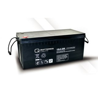 AGM Akku Typ Q-Batteries 12 V / 214 Ah