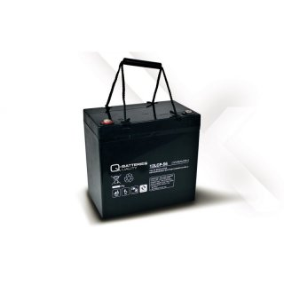 AGM Akku Typ Q-Batteries 12 V / 56 Ah