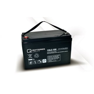 AGM Akku Typ Q-Batteries 12 V / 107 Ah