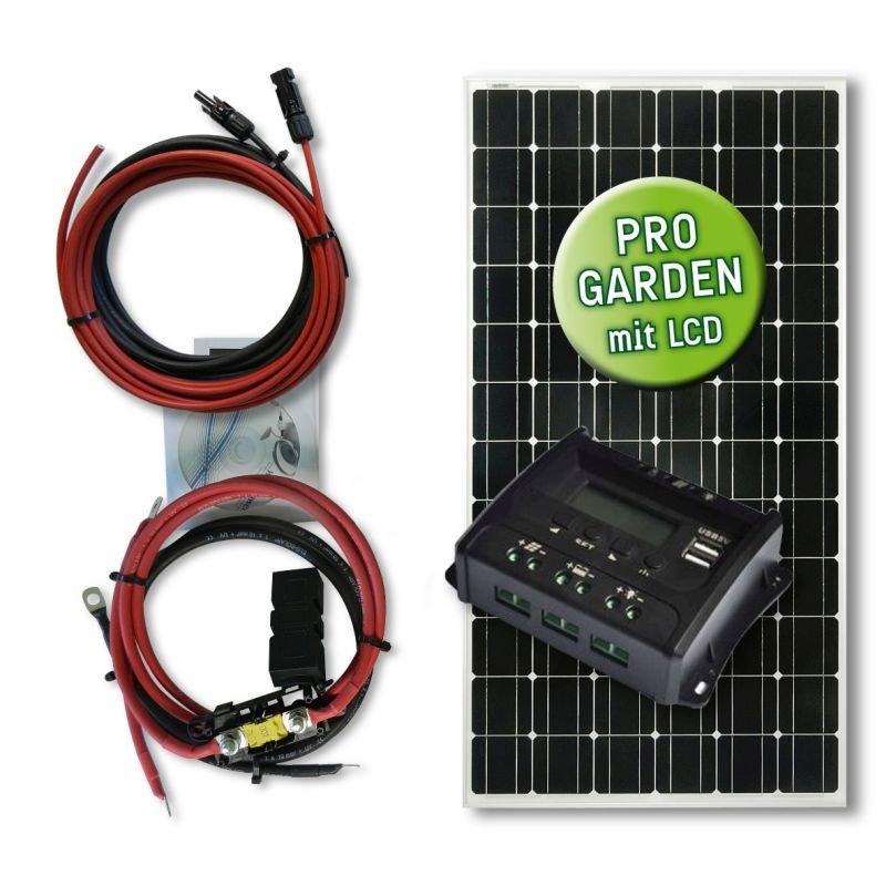 165 watt garten solar set midi typ gs 165 12 20 pwm. Black Bedroom Furniture Sets. Home Design Ideas