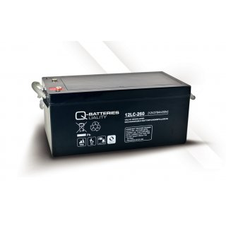 AGM Akku Typ Q-Batteries 12 V / 278 Ah