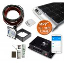 80 Watt Wohnmobil Solar Set - SMALL - MPPT 170 DUO -...
