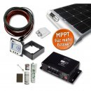 340 Watt Wohnmobil Solar Set - MPPT 350 DUO - MAXI POWER...