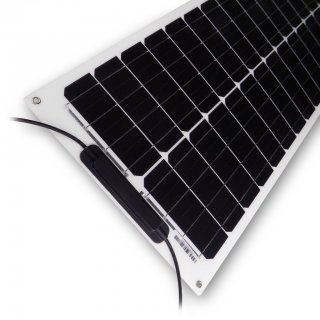 50 Watt LiMoPower Wohnmobil Solar Set - LMP 50 FLEX SMALL - MPPT 170 DUO