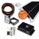 50 Watt LiMoPower Wohnmobil Solar Set - LMP 50 FLEX SMALL...